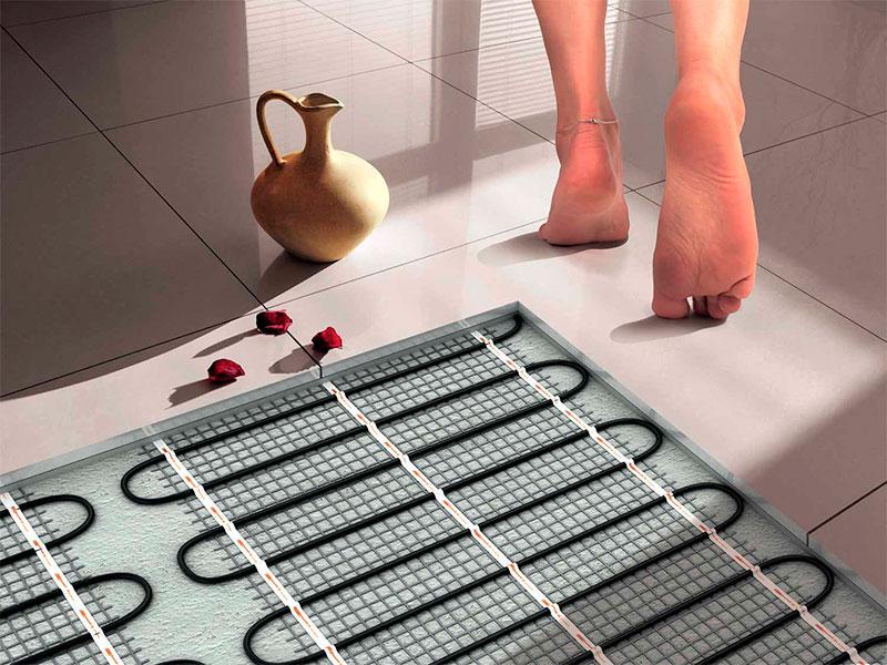Тёплый пол под плитку электрический своими руками 14