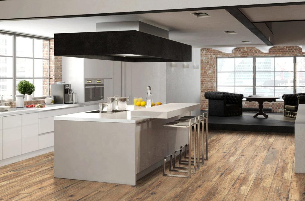 Granit Seramik Adalah Bahan Yang Sangat Baik Untuk Lantai Di Dapur Terima Kasih Kerana Tiruannya Mineral Ia Sesuai Pelbagai